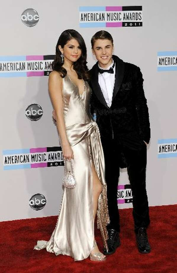 Justin Bieber and Selena Gomez look classy. Photo: AP