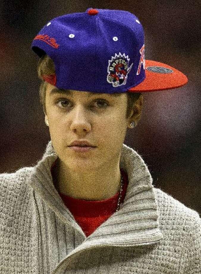 Representing his hometown of Toronto. Photo: AP