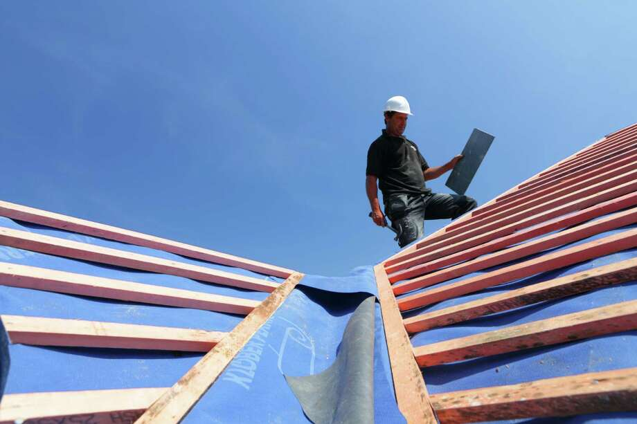 Worst jobs  9. Roofer:Construction has turned around since the recession, but roofers still have tough working conditions and a relatively low salary of $34,200. Photo: Peter Cade, Getty Images / (c) Peter Cade