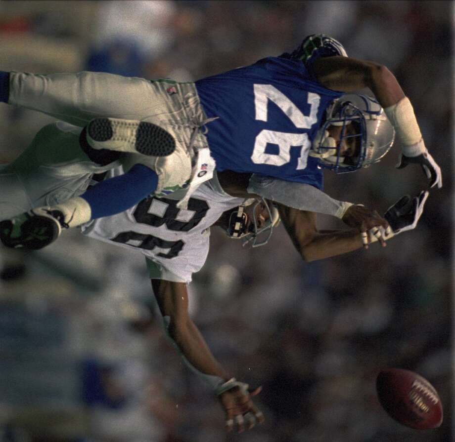 1993: Carlton Gray30th-overall pick   Position: Cornerback   College: UCLAGray (pictured No. 26) had one sack and three picks in 10 games his rookie year, and earned a starting spot for the rest of his time in Seattle. He added six more interceptions and finished his time with the Seahawks with 201 total tackles. Gray continued his career with one season in Indianapolis, one year with the Giants and a final two-year stint with the Chiefs, retiring after 2000 with two career sacks, 12 interceptions and 259 total tackles. Photo: Bill Chan, Associated Press