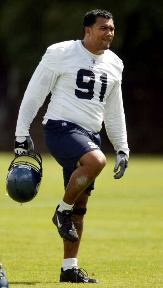2002: Anton Palepoi60th-overall pick | Position: Defensive end | College: UNLVThe Seahawks netted a second second-round pick in 2002 after trading down with Green Bay. Seattle took Palepoi hoping he'd turn into a star, but he never did. In two seasons with the Seahawks he had one sack and 20 tackles, and was traded to the Broncos after appearing in one game in 2004. Palepoi retired after 2005 with 39 career tackles and four sacks in 35 games. Photo: Paul Kitagaki Jr, Seattle P-I Archives