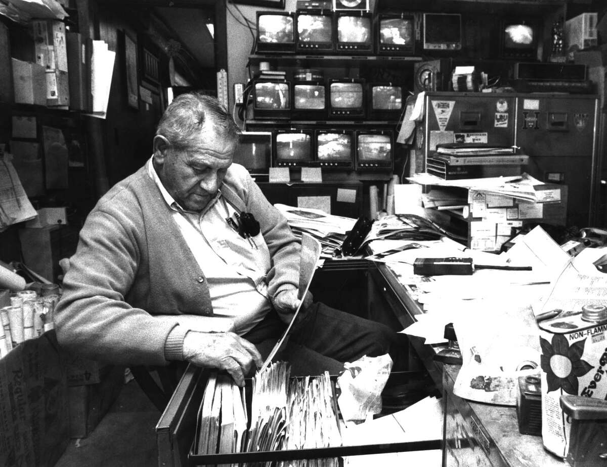 Hunter Mountain manager, Orville Slutsky, Nov. 16, 1987. (Times Union archive)