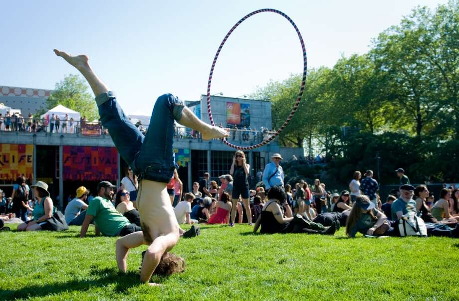 Northwest Folklife Festival and other big events in our parks are fun.