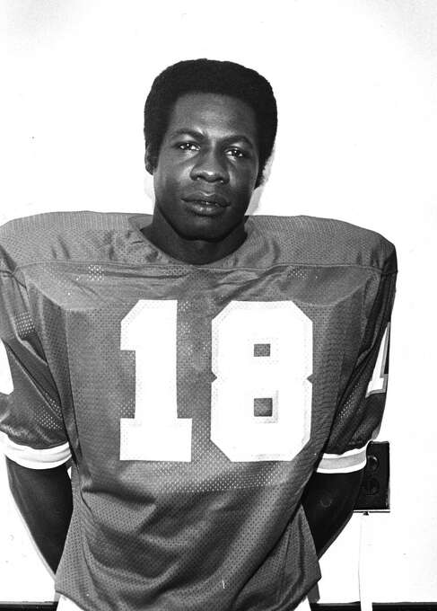 Kansas City Chiefs: DB Emmitt Thomas, Bishop College, 1966. Played 13 seasons in NFL, was an All-Pro and 5-time Pro Bowl selection who picked off 58 passes in his career. Inducted into Hall of Fame in 2008.  PHOTO: Thomas (18) is seen in 1973. Photo: Associated Press File Photo / 1973 AP