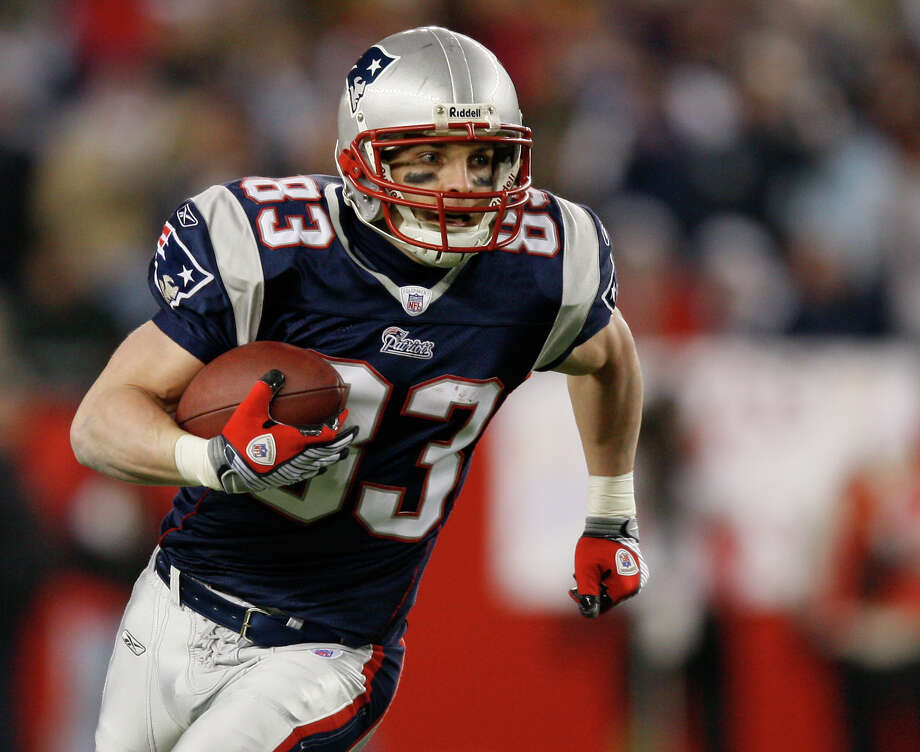 New England Patriots: WR Wes Welker, Texas Tech. The 5-foot-9 receiver is a 5-time Pro Bowler and 2-time All-Pro who originally signed with San Diego, then went to Miami before starring for 6 seasons in New England, where he caught 672 passes, 37 for touchdowns.   PHOTO: Welker carries the ball against the Jacksonville Jaguars in the first half of a NFL divisional playoff football game on Jan. 12, 2008, in Foxborough, Mass. Photo: Winslow Townson, Associated Press File Photo / 2007 AP