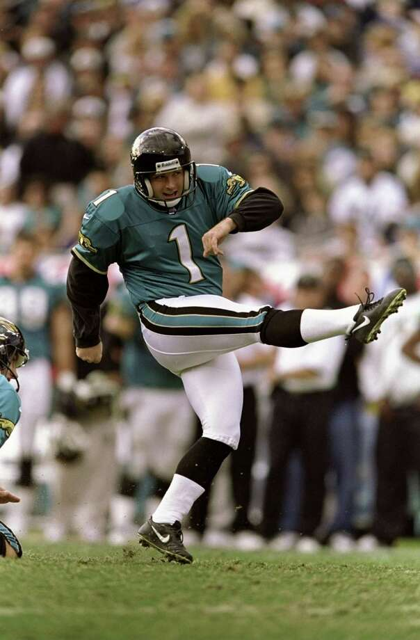 Jacksonville Jaguars: K Mike Hollis, Idaho. Made 80 percent of his kicks over an 8-year career that included a trip to the Pro Bowl in 1997. Edges RB Montell Owens, Maine, who made the Pro Bowl in 2010 and '11 as a special teams ace.    PHOTO: Hollis in action during the AFC Wild Card Game against the New England Patriots at the Alltel Stadium in Jacksonville, Fla., on Jan. 3, 1999. Photo: Andy Lyons, Allsport Via Getty Images / Getty Images North America