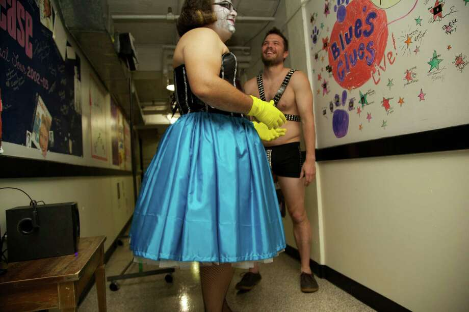There were plenty of drag queens at Cornyation on Tuesday night.