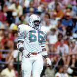 Miami Dolphins (tie): G Larry Little, Bethune-Cookman. Little played a dozen seasons in Miami after 2 in San Diego. The 5-time Pro Bowler and 5-time All-Pro was inducted into the Hall of Fame in 1993.   PHOTO: Little looks on against the Kansas City Chiefs during a game at Arrowhead Stadium on Sept. 17, 1972, in Kansas City, Mo.