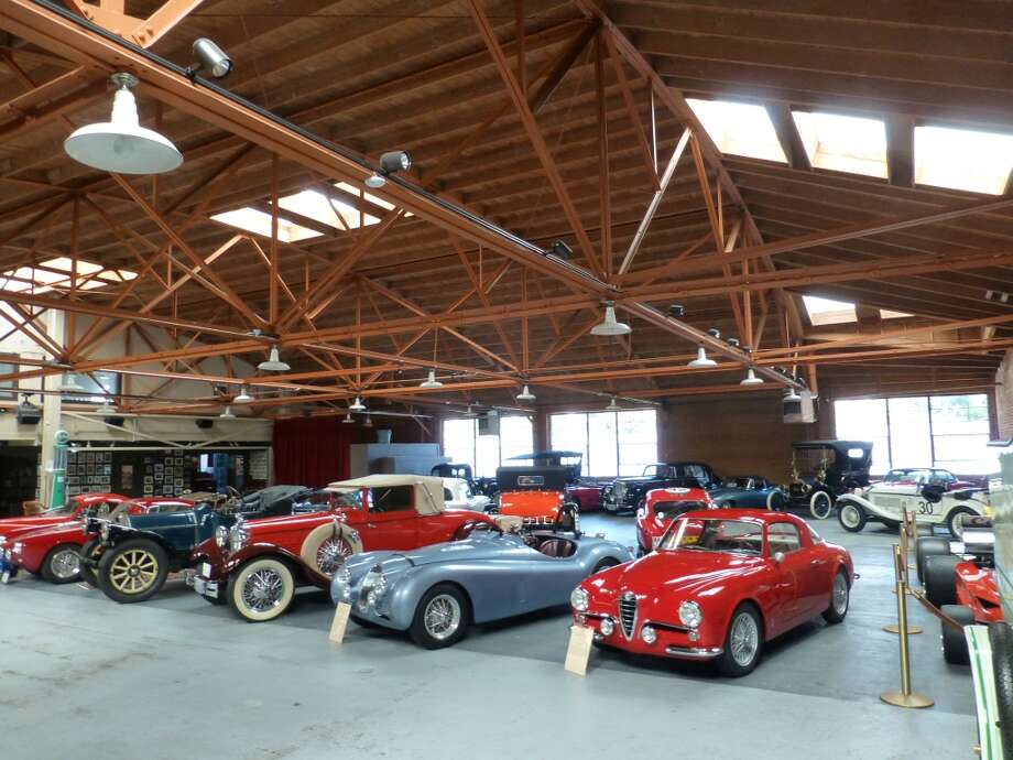 The vast rear portion of The Candy Store was once the service area for a Packard dealership.