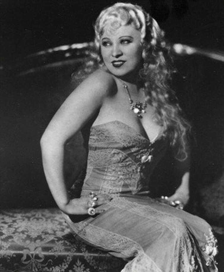 Mae West, writer, actress, star.