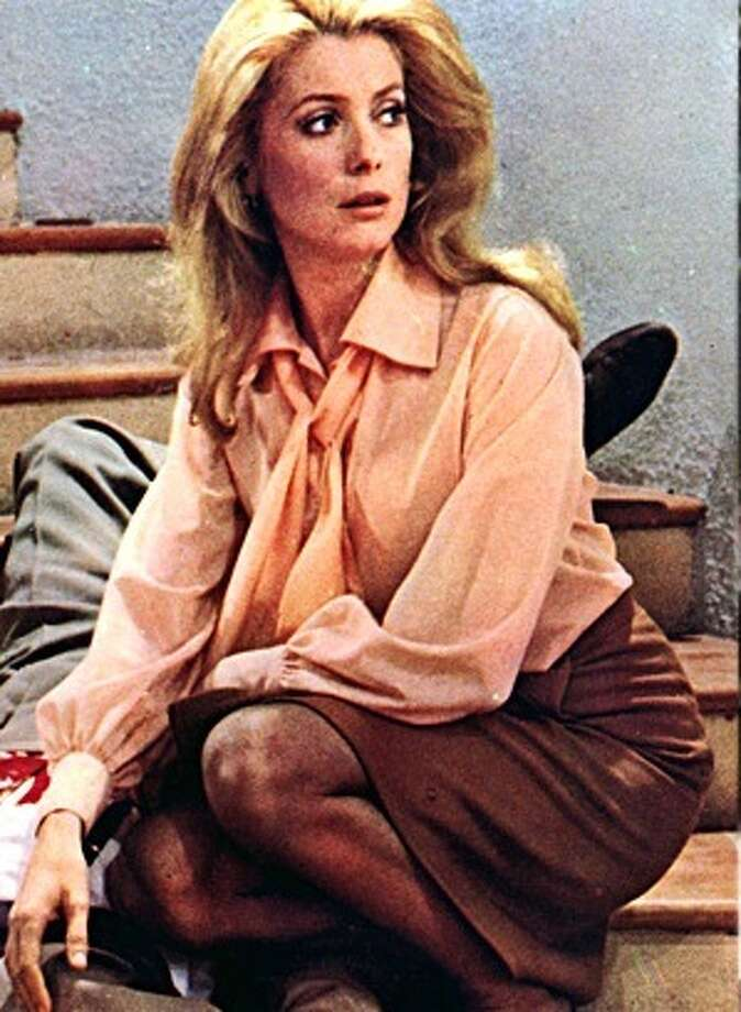 "Catherine Deneuve -- the first name most people would come up in a word association test asking for ""a French woman.\"""