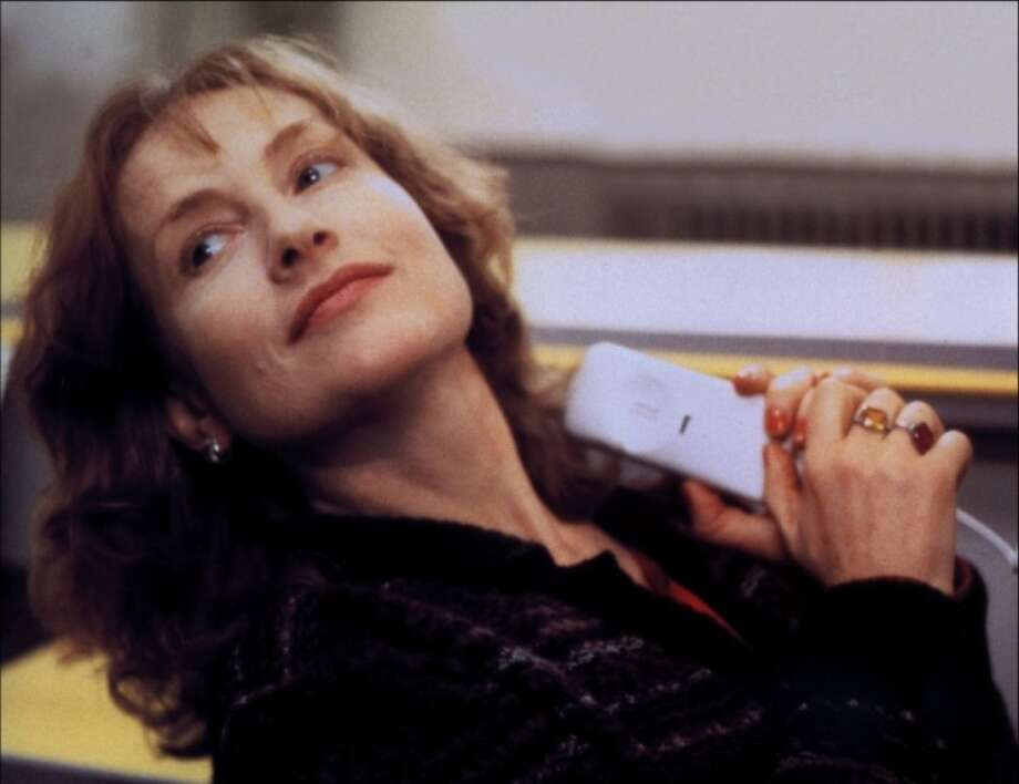 Isabelle Huppert, great French actress.