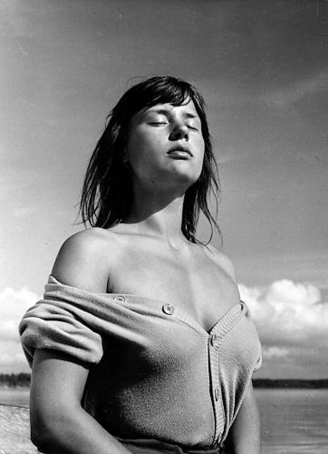Harriet Andersson, remarkable Swedish actress, no one like her.
