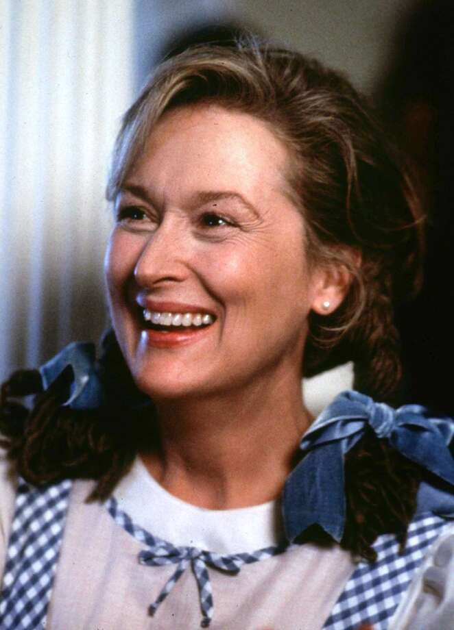 Meryl Streep, the greatest actress of the current cinema.