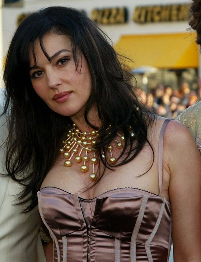 Monica Bellucci, Italian actress of French and Italian films. Photo: FRED PROUSER, REUTERS / X00224