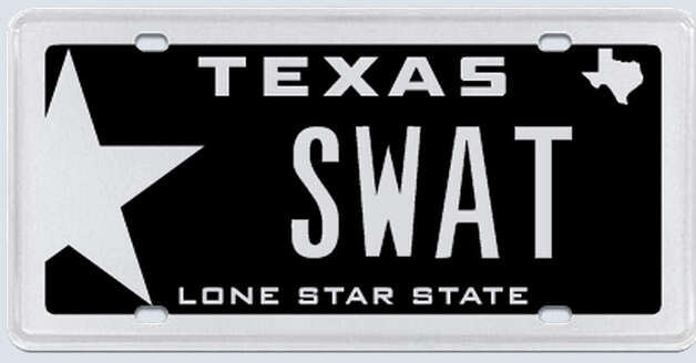 """SWAT -- South West Alief Texas. This meaning is part of the area of Houston that we live in."" Photo: MyPlates.com"