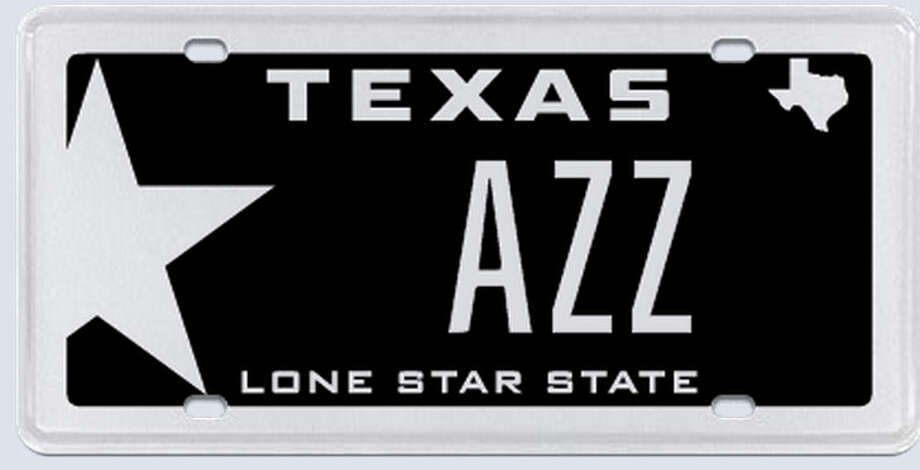 "What the applicant:""AZZ plates is based on AZZ being the Australian Stock Exchange ticker codes for Antares Energy Limited, which is a Houston-based Eagle Ford Shale focused exploration and production company."" Photo: MyPlates.com"