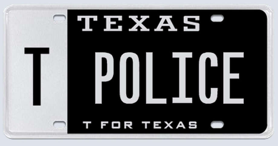 "What the applicant:""I know for a fact that the regular 6-digit ""POLICE"" license plate exists and is issued by the state, so I fail to understand the reasoning why TPOLICE cannot be issued to a law enforcement officer."" Photo: MyPlates.com"