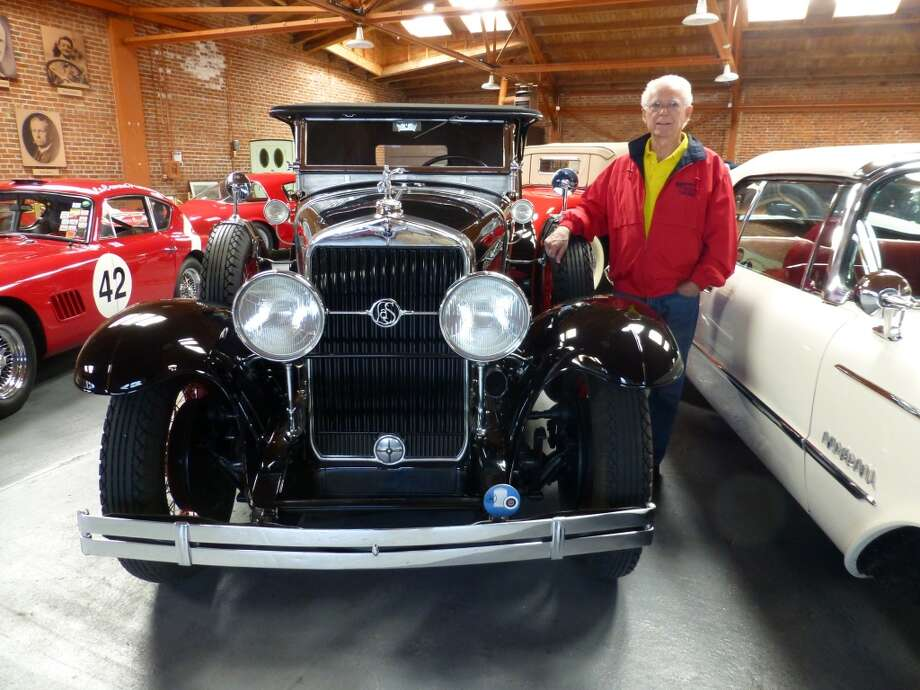 David Buchanan, president of The Candy Store, with a 1928 La Salle he once owned.