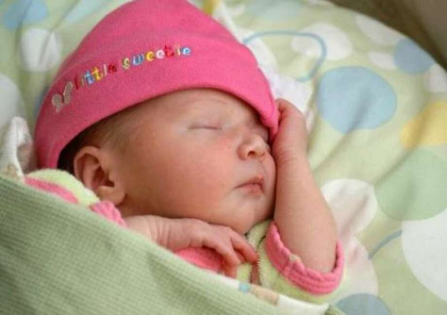 My newborn daughter, Corinne. Photo: DDH, Chron.com