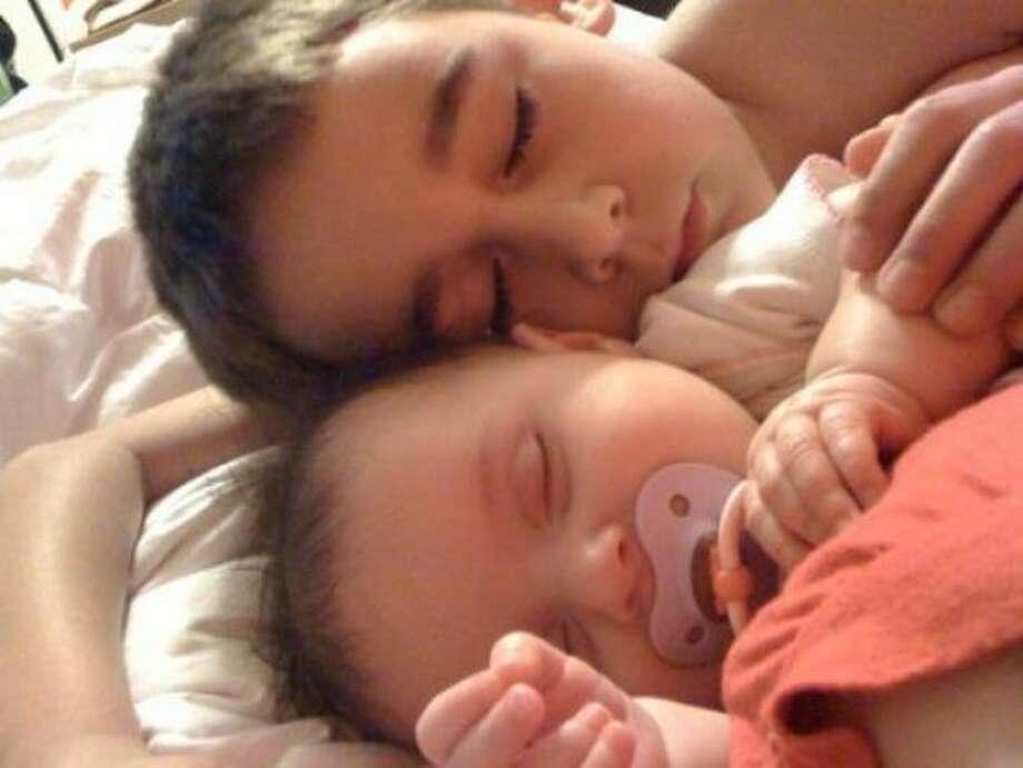 My sleeping angels Photo: Ashley Bounds, Chron.com