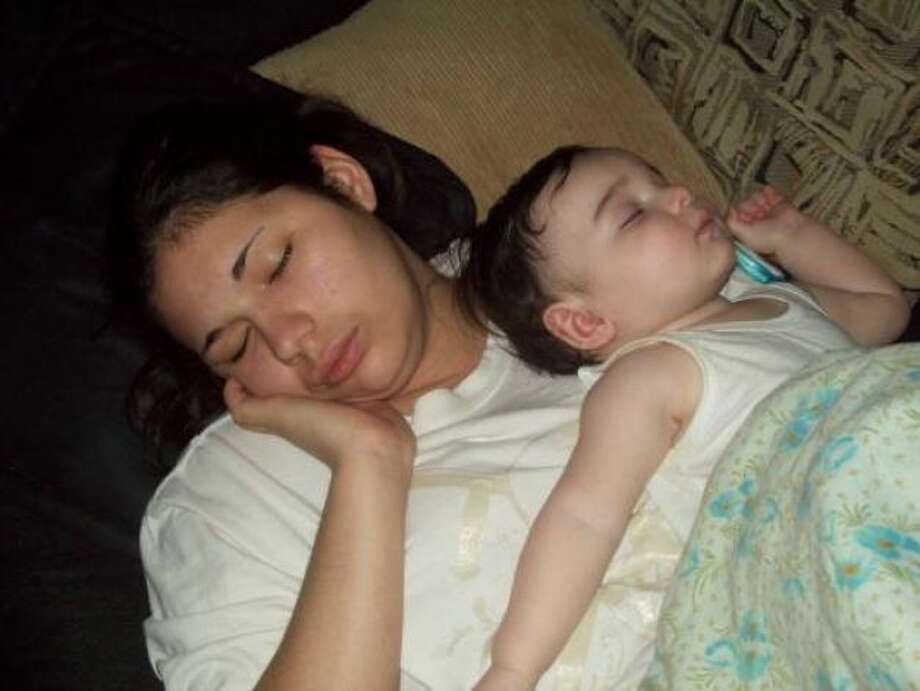 Isaiah & Mommy Sleeping Photo: Alyssa_loves_isaiah, Chron.com