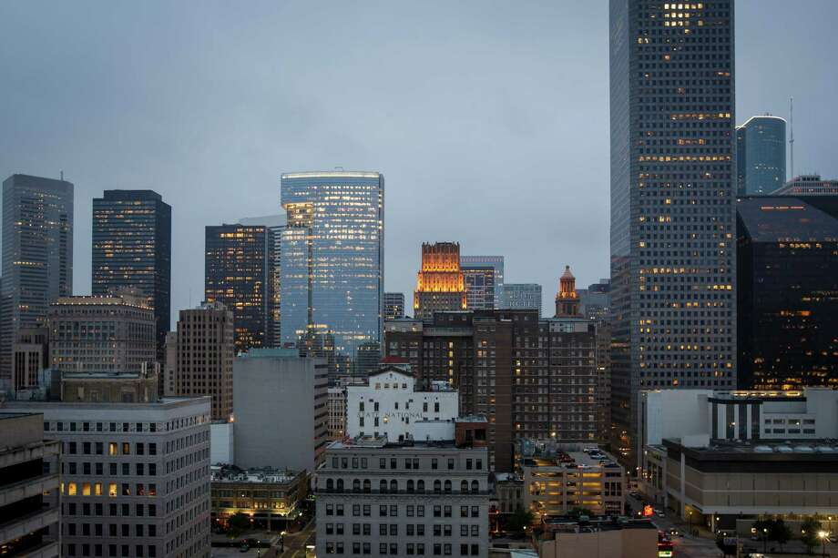 The downtown Houston skyline. ( Michael Paulsen / Houston Chronicle ) Photo: Michael Paulsen, Staff / © 2013 Houston Chronicle