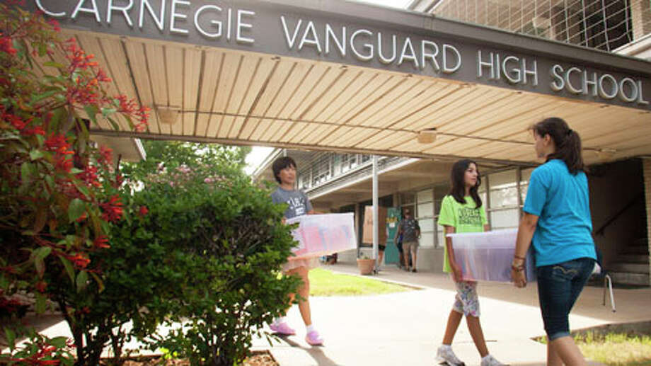 Carnegie Vanguard High School ranked among the most challenging high schools in America based on a list by The Washington Post. Photo: J. Patric Schneider, . / © 2012 Houston Chronicle