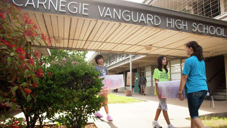 Carnegie Vanguard High SchoolHouston ISDGrade: AGraduation rate: 97.5 percentSource: Niche Photo: J. Patric Schneider, . / © 2012 Houston Chronicle