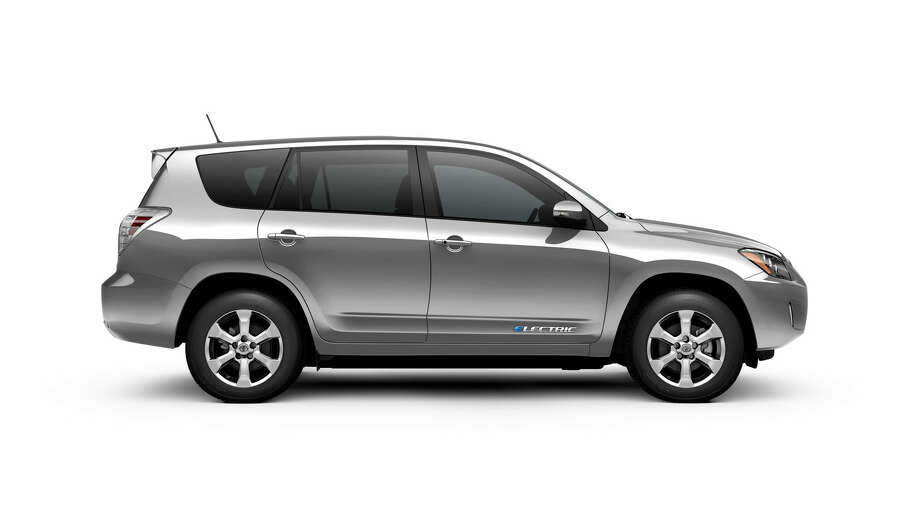 Car: 2013 Toyota RAV4 EVMPGe: 76Price: $49,800 Photo: Handout