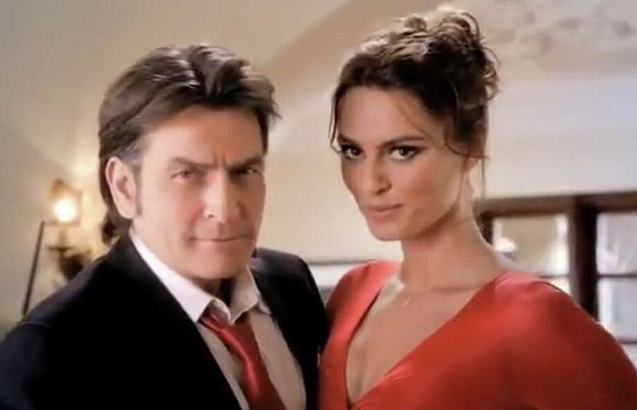 Charlie Sheen was once the face for Fiat. Photo: YouTube