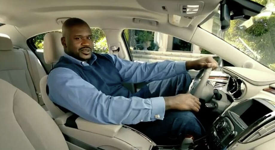 Shaq starred in commercials for Buick. Photo: YouTube
