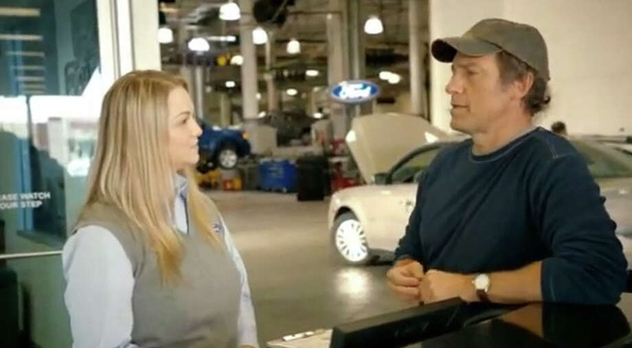 TV host Mike Rowe had been the face of Ford before being replaced by Ryan Seacrest. Photo: YouTube