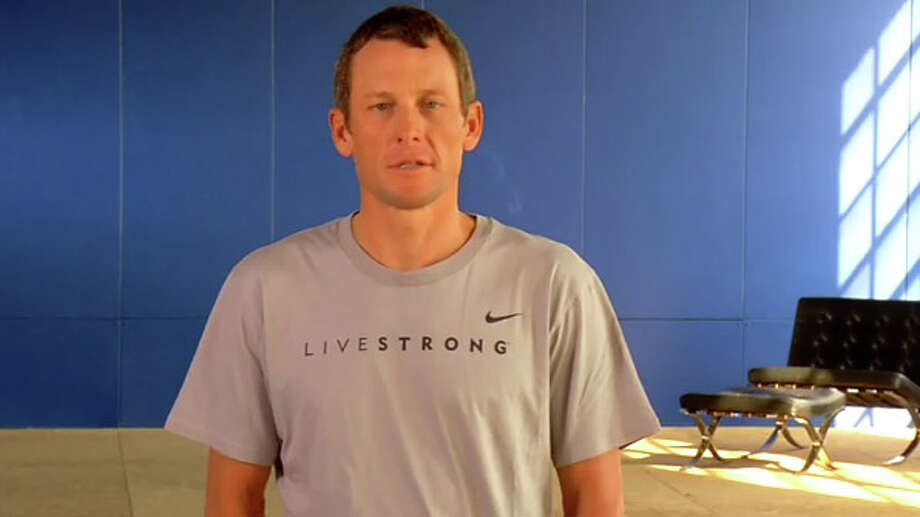 Lance Armstrong says he still considers himself the winner of seven tours. See photos from 100 editions of the Tour de France.  Photo: YouTube