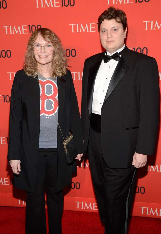 NEW YORK, NY - APRIL 23:  Mia Farrow and Fletcher Previn attend TIME 100 Gala, TIME\'S 100 Most Influential People In The World at Jazz at Lincoln Center on April 23, 2013 in New York City.  (Photo by Kevin Mazur/WireImage for TIME)