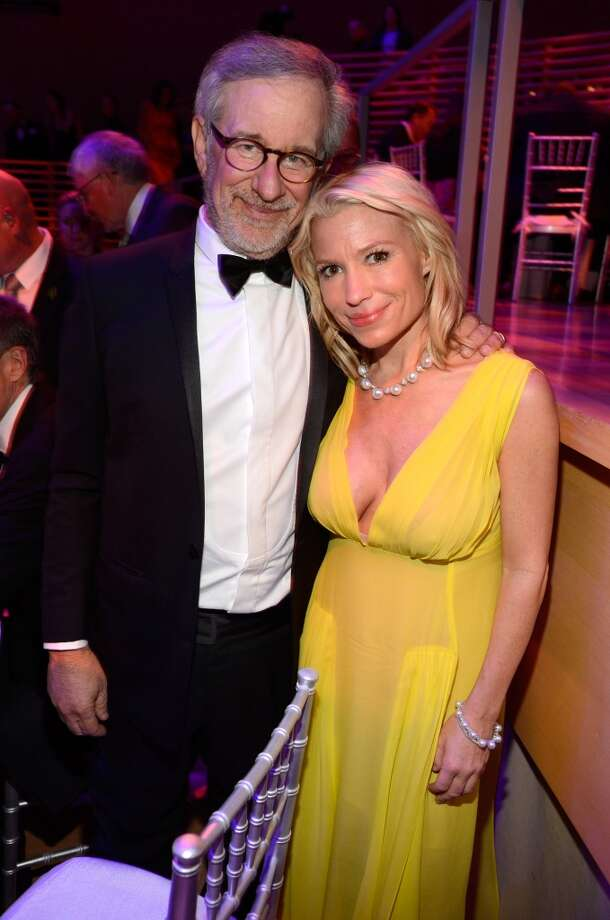 NEW YORK, NY - APRIL 23:  Steven Spielberg and Tracy Anderson attend  TIME 100 Gala, TIME\'S 100 Most Influential People In The World at Jazz at Lincoln Center on April 23, 2013 in New York City.  (Photo by Kevin Mazur/WireImage for TIME)