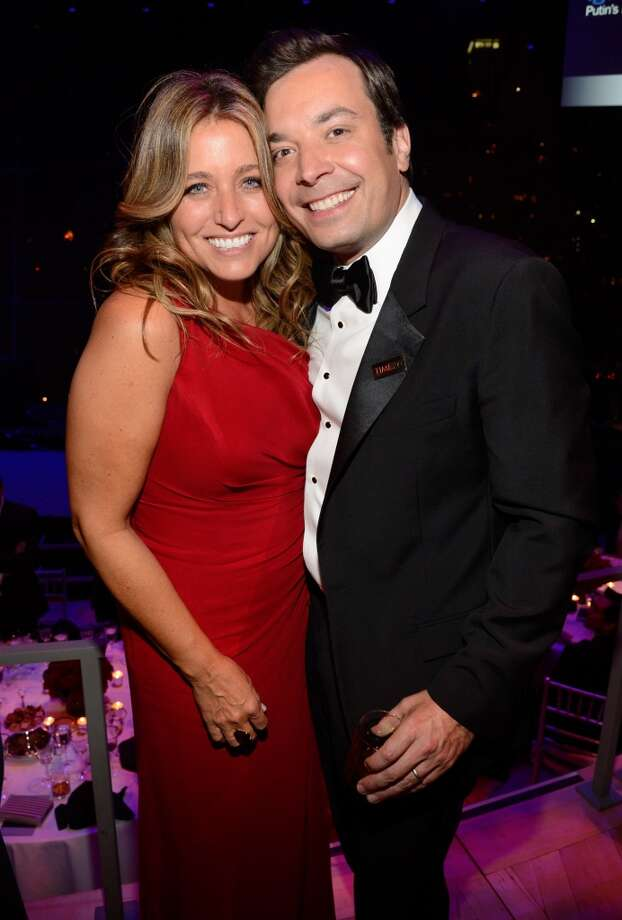 NEW YORK, NY - APRIL 23:  Nancy Juvonen and Jimmy Fallon attend TIME 100 Gala, TIME\'S 100 Most Influential People In The World at Jazz at Lincoln Center on April 23, 2013 in New York City.  (Photo by Kevin Mazur/WireImage for TIME)