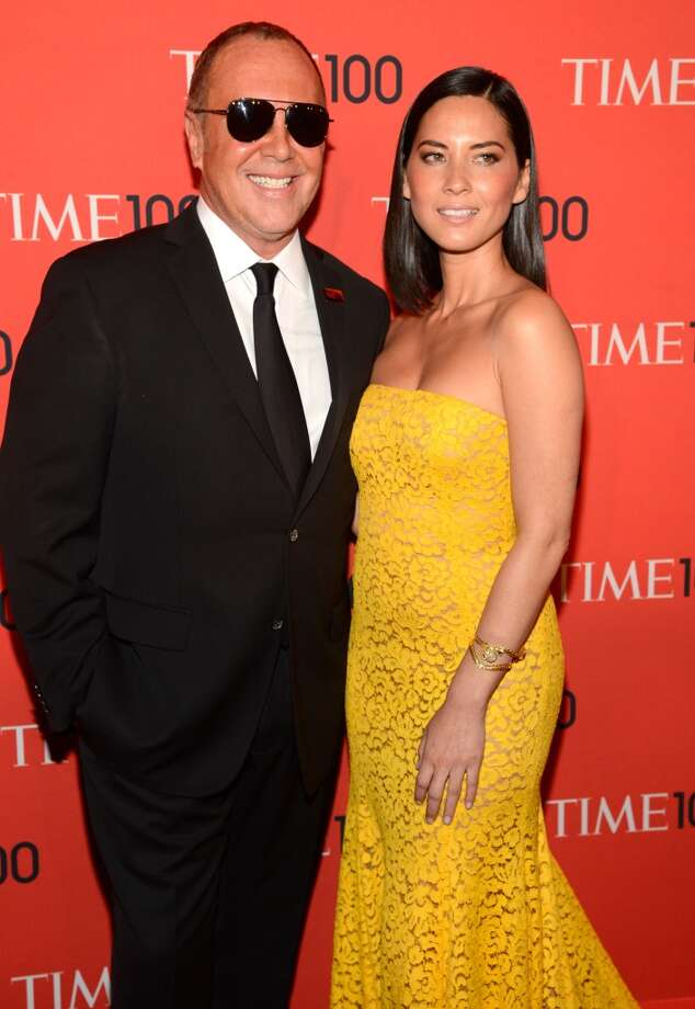 NEW YORK, NY - APRIL 23:  Michael Kors and Olivia Munn attend TIME 100 Gala, TIME\'S 100 Most Influential People In The World at Jazz at Lincoln Center on April 23, 2013 in New York City.  (Photo by Kevin Mazur/WireImage for TIME)