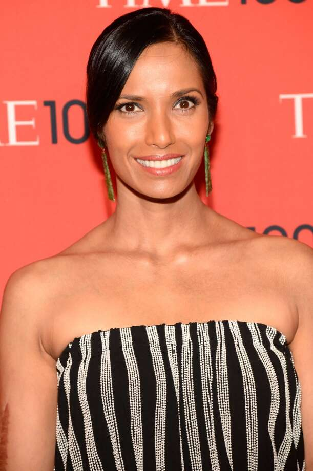 NEW YORK, NY - APRIL 23:  Padma Lakshmi attends TIME 100 Gala, TIME\'S 100 Most Influential People In The World at Jazz at Lincoln Center on April 23, 2013 in New York City.  (Photo by Kevin Mazur/WireImage for TIME)