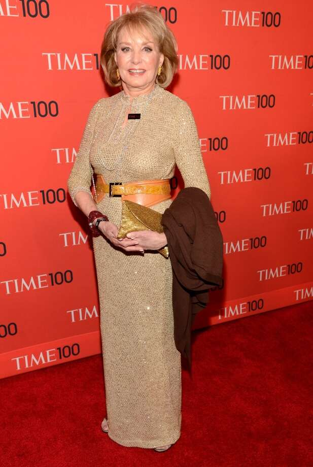 NEW YORK, NY - APRIL 23:  Barbara Walters attends TIME 100 Gala, TIME\'S 100 Most Influential People In The World at Jazz at Lincoln Center on April 23, 2013 in New York City.  (Photo by Kevin Mazur/WireImage for TIME)