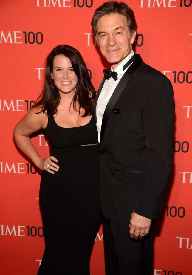 NEW YORK, NY - APRIL 23:  Lisa Oz and Dr Mehmet Oz attend TIME 100 Gala, TIME\'S 100 Most Influential People In The World at Jazz at Lincoln Center on April 23, 2013 in New York City.  (Photo by Kevin Mazur/WireImage for TIME)