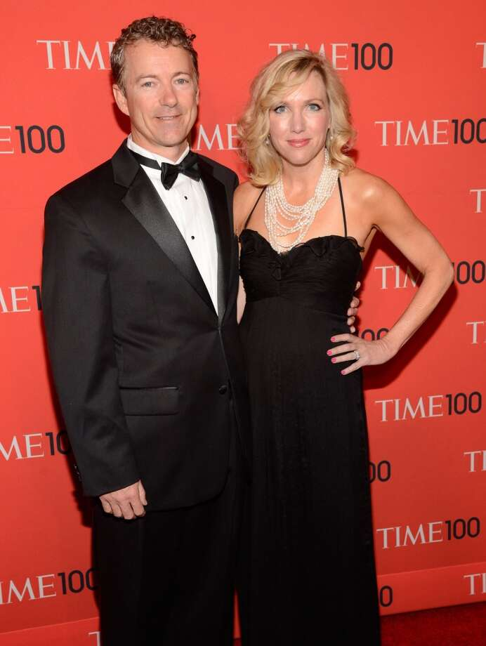 NEW YORK, NY - APRIL 23:  Rand Paul and Kelley Ashby attend TIME 100 Gala, TIME\'S 100 Most Influential People In The World at Jazz at Lincoln Center on April 23, 2013 in New York City.  (Photo by Kevin Mazur/WireImage for TIME)