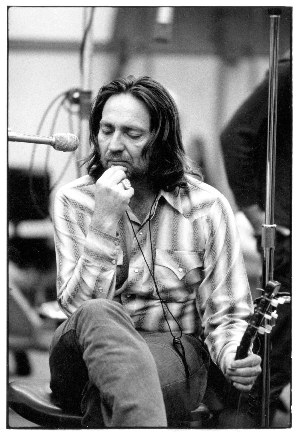 Willie Nelson, early 1970s. courtesy of Rhino Records Credit: David Gahr