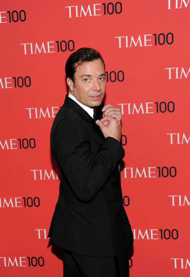 "Talk show host Jimmy Fallon attends the TIME 100 Gala celebrating the ""100 Most Influential People in the World"" at Jazz at Lincoln Center on Tuesday April 23, 2013 in New York. (Photo by Evan Agostini/Invision/AP) Photo: Evan Agostini"