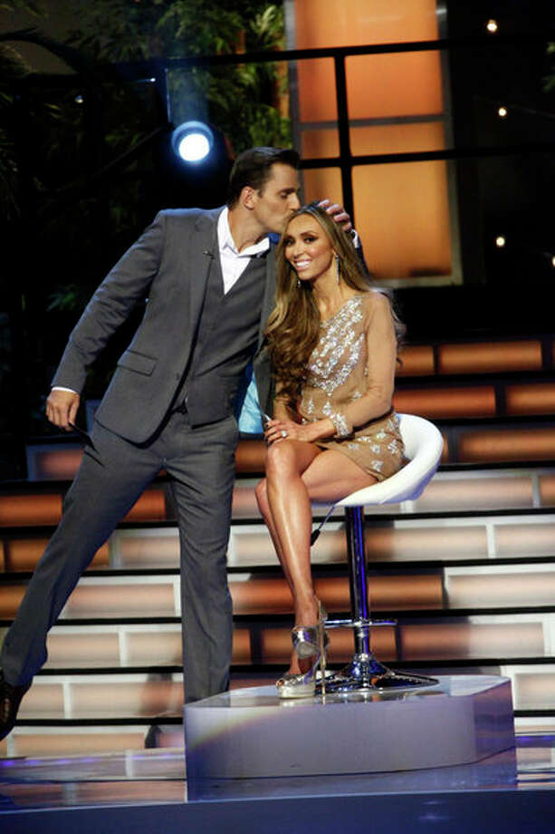 """Ready for Love,"" ""Love Connections"" Episode 103 -- Pictured: (l-r) Bill Rancic, Giuliana Rancic Photo: NBC, Vivian Zink/NBC / 2012 NBCUniversal Media, LLC"