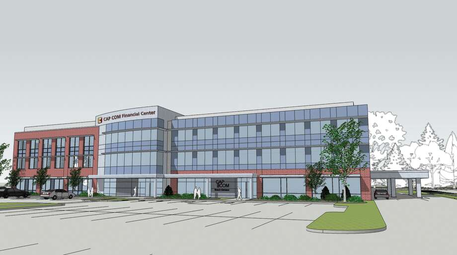 A rendering of the new CAP COM financial center to be constructed at 4 Winners Circle in Colonie.