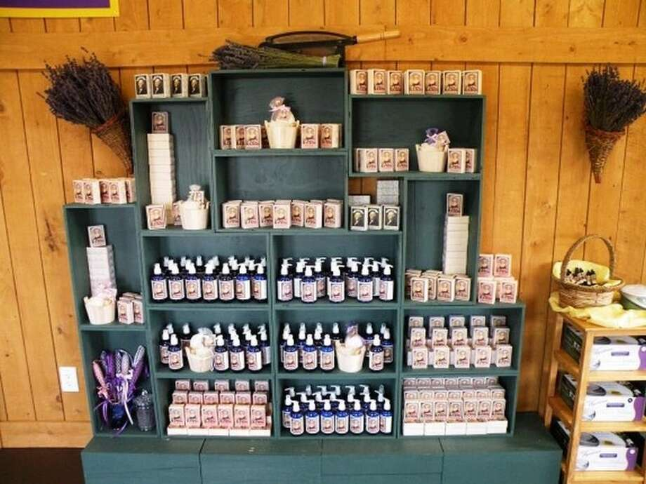 Gift shop of the George Washington Inn, at 939 Finn Hall Road, in Port Angeles. The 10,000-square-foot bed and breakfast, built in 2002, has eight bedrooms, eight bathrooms, a theater, decks, patios, a geothermal heating system, water and mountain views, outbuildings and a helipad on an 11-acre lavender farm along the Strait of Juan de Fuca. It's listed for $3 million. Photo: Courtesy Sam Cunningham, Sandy Justen And Julie Biniasz, Realogics Sotheby's International Realty