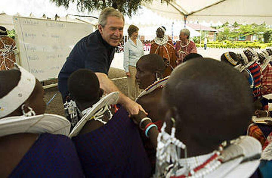 George W. Bush remains committed to relief work in Africa after his presidency. Getty Images.