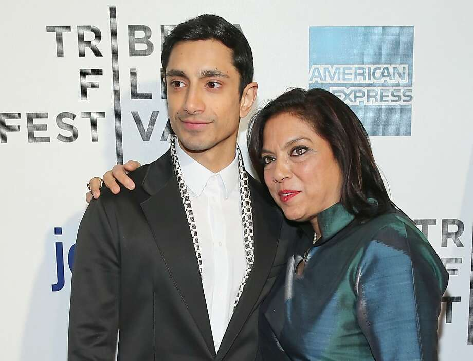 """Riz Ahmed, star of """"The Reluctant Fundament- alist,"""" with director Mira Nair: """"He understood the idea of honor and shame in a way that absolutely moved me,"""" she says of his audition. Photo: Neilson Barnard, (Credit Too Long, See Caption)"""