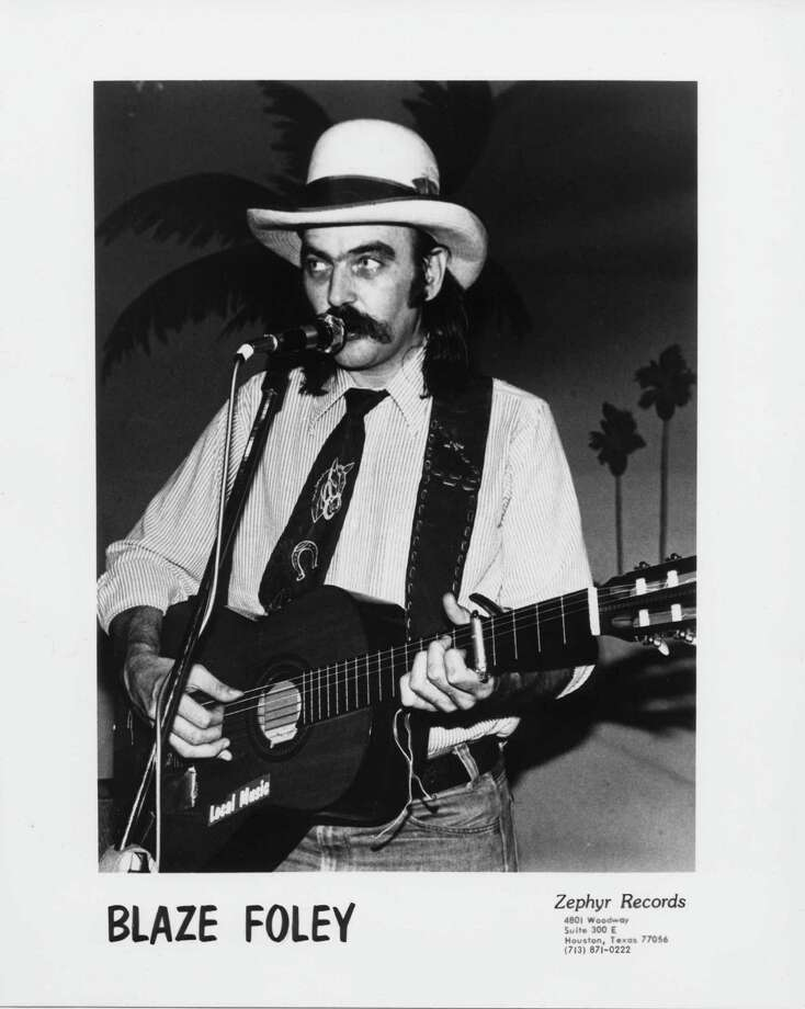 singer-songwriter Blaze Foley / handout email